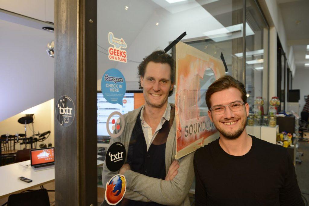 Alexander Ljung y Eric Wahlforss Soundcloud