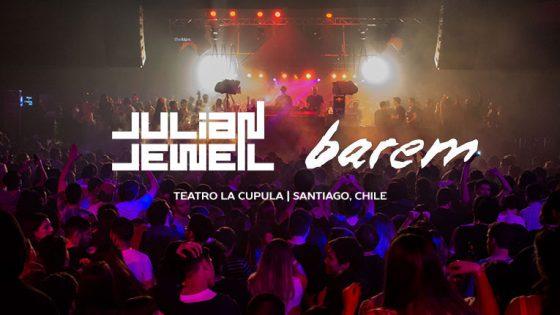 JULIAN JEWEIL & BAREM Teatro la Cúpula   Santiago, Chile