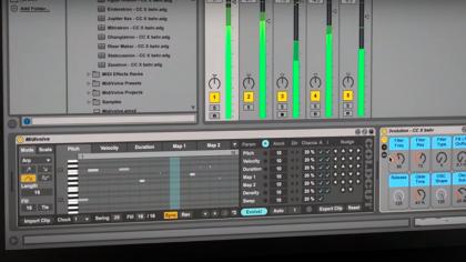 VIDEO – MIDIVOLVE DE COLDCUT: GENERADOR DE PATRONES MIDI PARA ABLETON LIVE