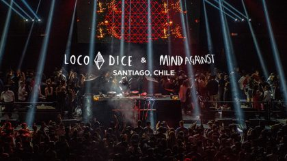 LOCO DICE + MIND AGAINST | Teatro Caupolican. Santiago, Chile