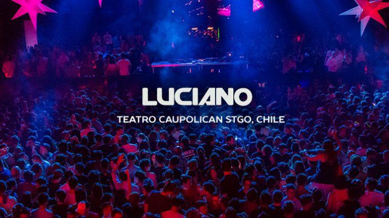 LUCIANO @ Teatro Caupolicán | Santiago, Chile