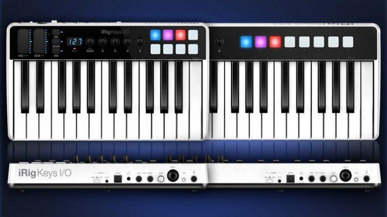 IK Multimedia lanza un controlador portátil de teclado