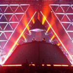 La banda tributo a Daft Punk recrea la pirámide de Alive