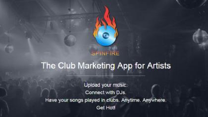 Spinfire APP para que productores paguen a djs para tocar sus tracks