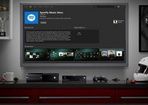 Spotify llegó a Xbox One