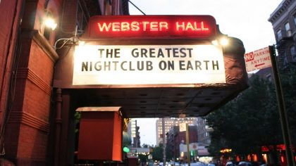 EL CLUB WEBSTER HALL DICE ADIÓS