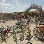 Miles de bicicletas abandonadas este año en el Burning Man