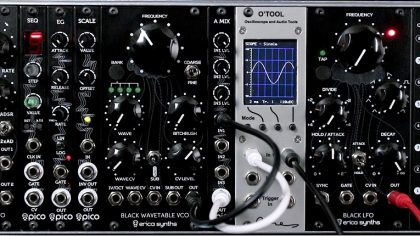 Nueva Black Wavetable VCO Expansion ROM de Erica Synths