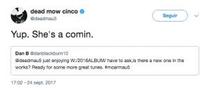 Un usuario de Twitter preguntó a deadmau5 por su próximo trabajo - DjProfileTv