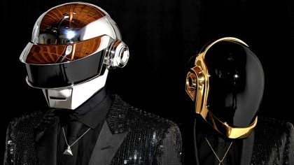 Daft Punk sin sus cascos robots en escenas documentales raras