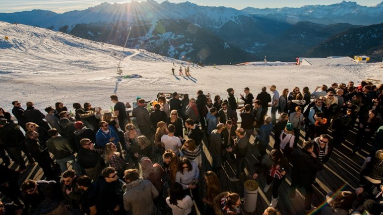 Polaris Festival por tercer año en Los Alpes Suizos