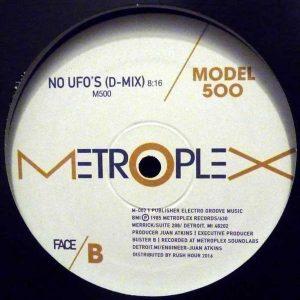 Juan Atkins vuelve a lanzar su tema No UFOs - djprofile.tv