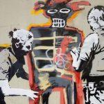 Banksy aparece en Londres con un homenaje a Basquiat