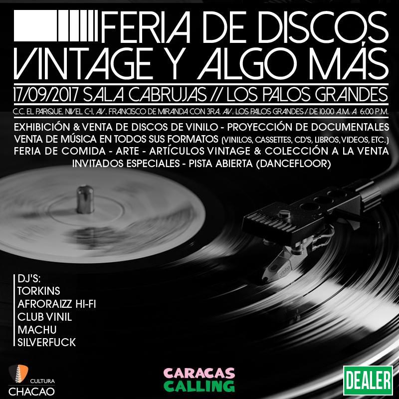 discos vintage caracas