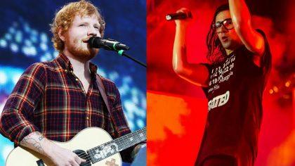 Skrillex y Ed Sheeran en un DJ set sorpresa