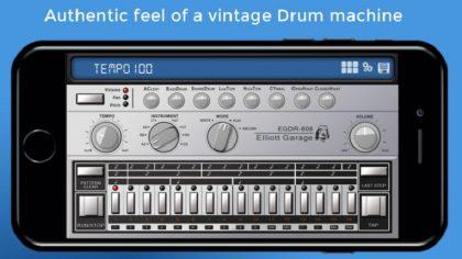 Elliot Garage introduce Drum Machine 606 para iOS