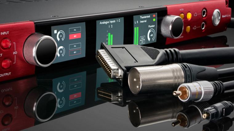 Focusrite anuncia interfaz de audio Red 16Line