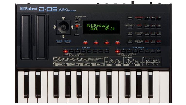 Roland relanzará su clásico sintetizador D-50 como el D-05 Boutique - DjProfileTv