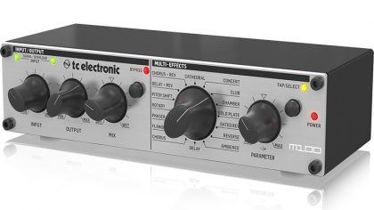 TC Electronic presenta el M100 Stereo Multi-Effects Processor
