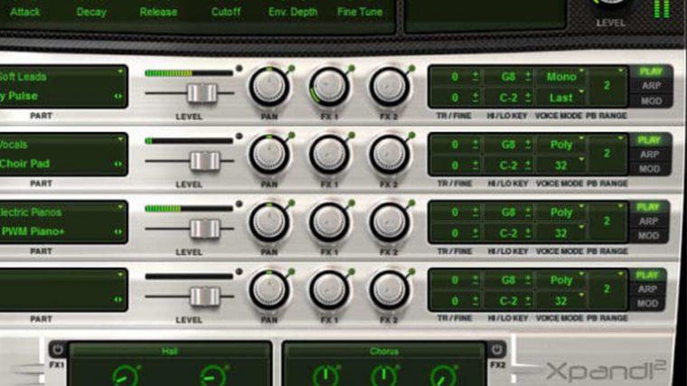 Consigue el instrumento virtual Air Music Xpand!2 gratis a través de DontCrac[k]