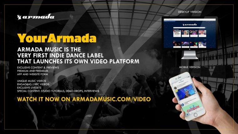 Armada Music lanzará una plataforma de video