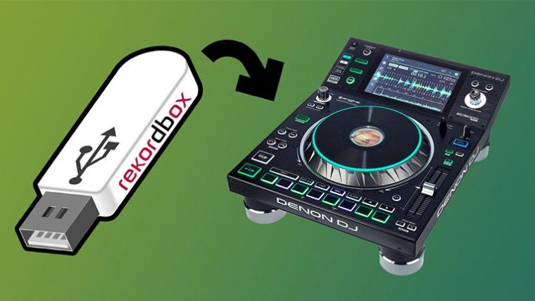 Denon DJ SC55000 Prime puede ahora leer tu biblioteca de Rekordbox
