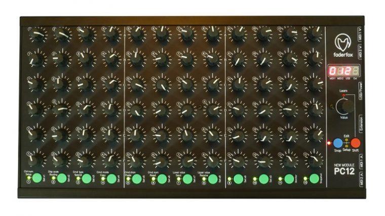 Faderfox anuncia el controlador PC12 para DJs y productores