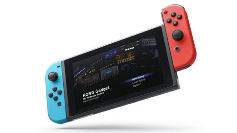 Korg Gadget llegará a Nintendo Switch el próximo año