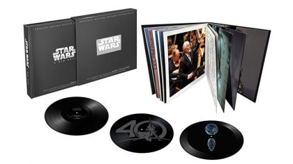 Walt Diney Records celebra el 40º aniversario de Star Wars con un vinyl box set