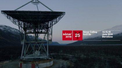 Sónar celebra 25 años enviando música al espacio