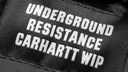 Underground Resistance y Carhartt se unen para línea de ropa