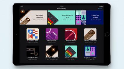 Apple actualiza GarageBand para iOS con biblioteca de sonidos gratuita