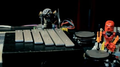 Video – Mira a estos robots Lego en una jam session