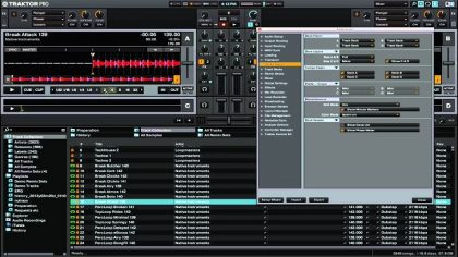 Traktor introduce código de color para los tracks