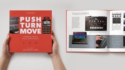 Push Turn Move: Un libro sobre el diseño industrial de tecnología para DJs y productores