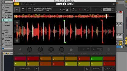 Actualizan Serato Sample a su versión 1.1 y ahora es compatible con macOS High Sierra