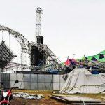VIDEO – UN DJ MUERE Y VARIOS HERIDOS AL COLAPSAR ESTRUCTURA EN FESTIVAL EN BRASIL