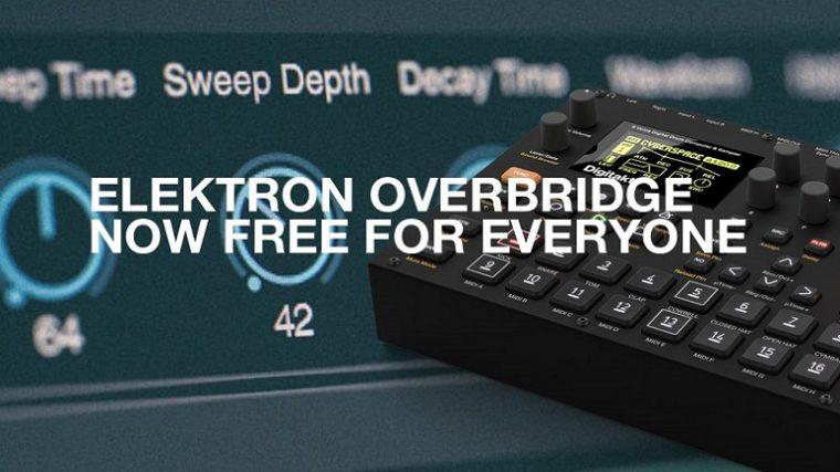 ¡Elektron Overbridge gratis para todos!