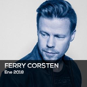 FERRY CORSTEN - Chart ene 2018 - www.djprofile.tv