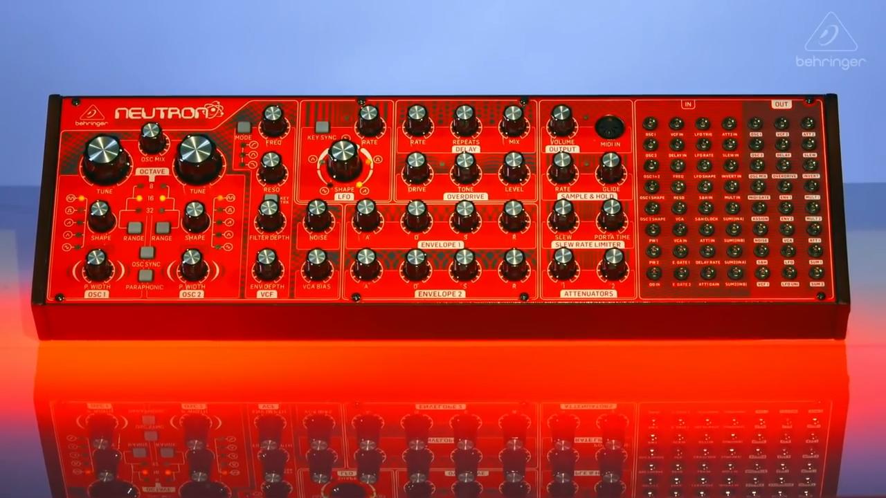 sintetizador Neutron de Behringer - djprofile.tv