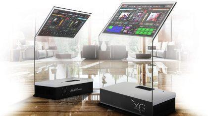 Un controlador para DJs de cristal y táctil único en su clase