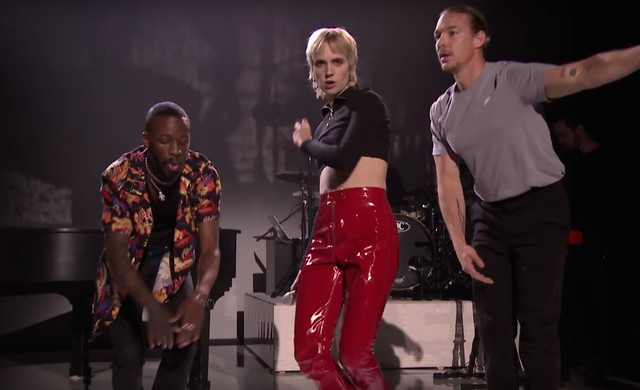 Diplo, Mø y GoldLink en The Tonight Show - DJPROFILETV
