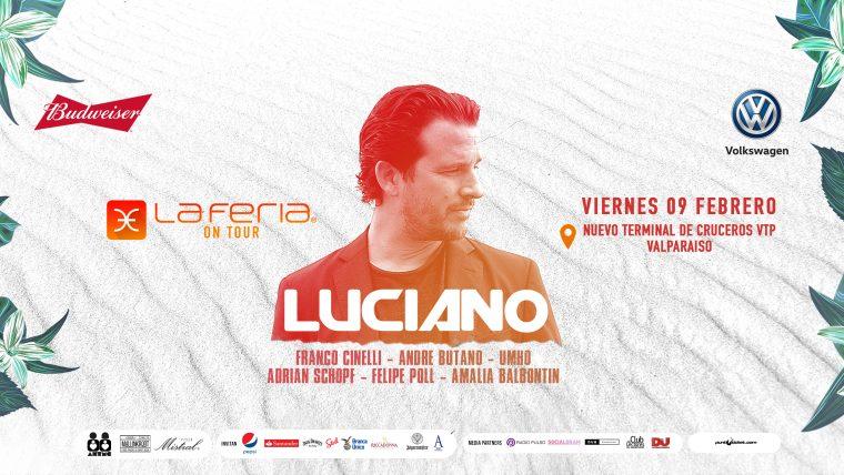 Luciano cierra el ciclo La Feria On Tour este verano