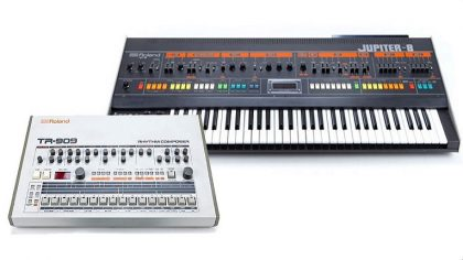 Behringer planea lanzar clones de Roland Jupiter-8 y TR-909