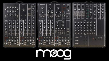 Moog anuncia un sintetizador modular de 35.000 dólares