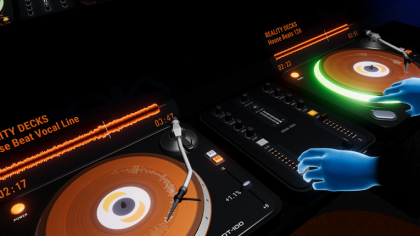 Reality Decks un DJ en realidad virtual para Oculus Rift