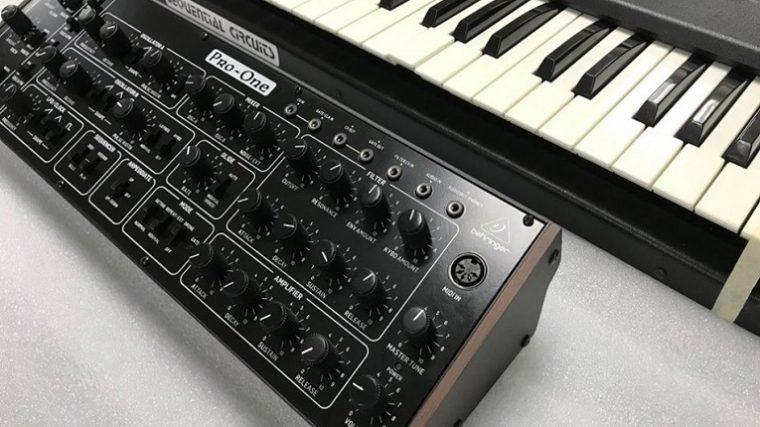 Behringer vuelve a clonar un sintetizador clásico