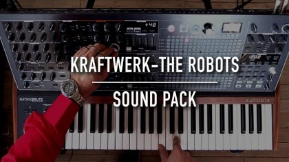 Video – Cover de Kraftwerk en un MatrixBrute