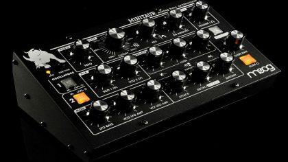 Free download – Biblioteca de sonidos Moog Minitaur para Ableton Live