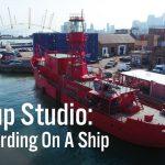 Video – Mira este increíble estudio de grabación en un barco